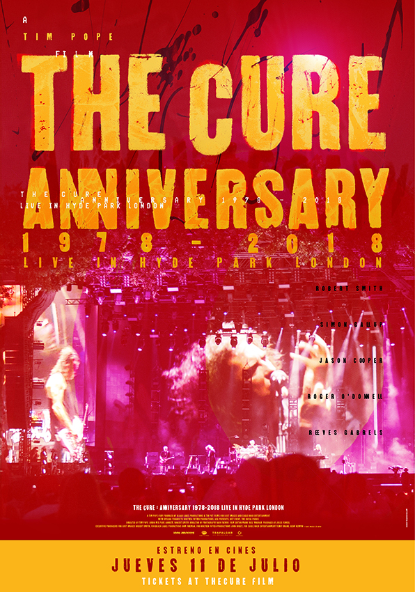¿Quieres ver The Cure Anniversary 1978-2018?