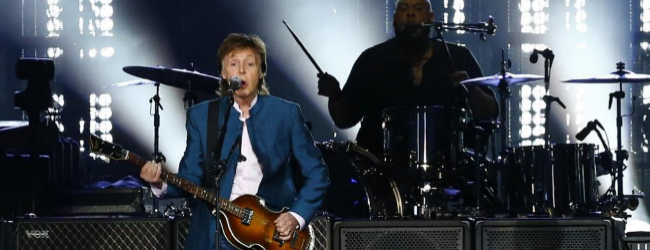 Paul McCartney, cabeza de cartel de Glastonbury 2020