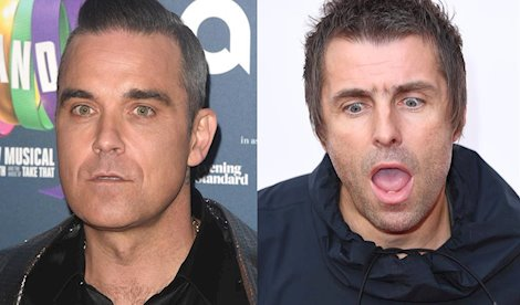 Robbie Williams quiere un combate profesional de boxeo con Liam Gallagher